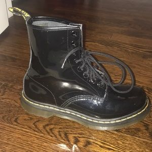 Women's 1460 Patent Leather Boots